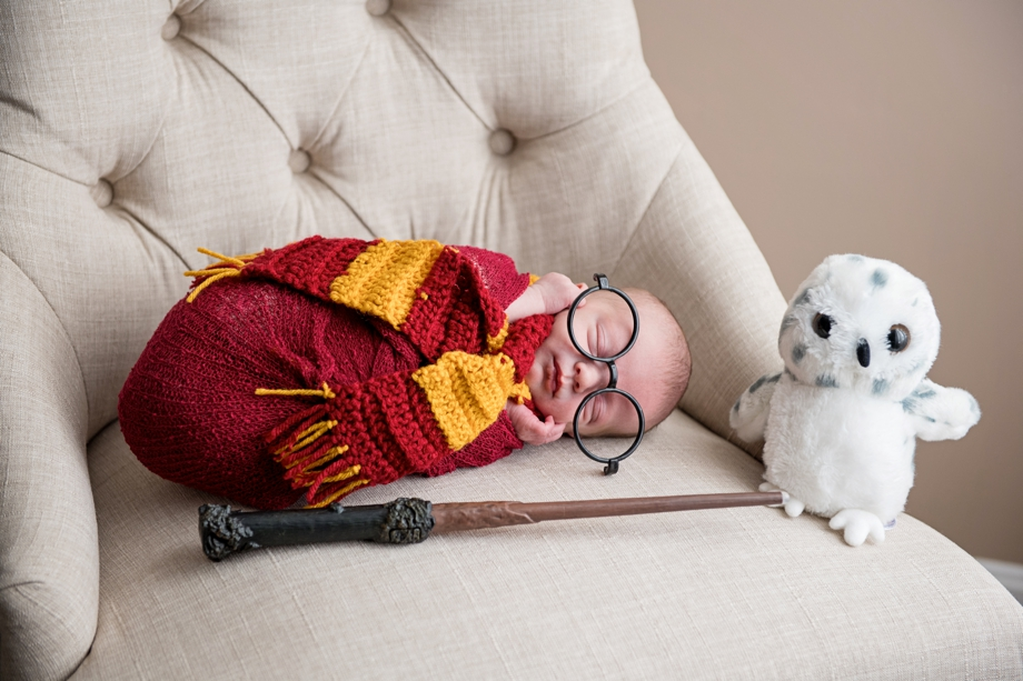 Baby S | Harry Potter Newborn Photography