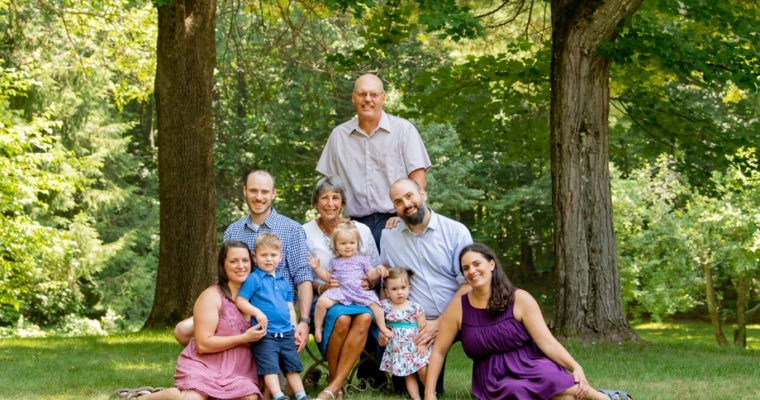 Family Portrait Photography | The Rowedder Family