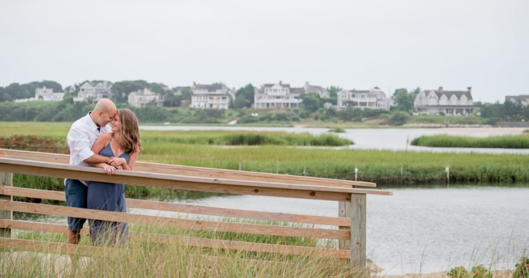 Chatham's Bar Inn & Ridgevale Beach Engagement | Katie & Nick